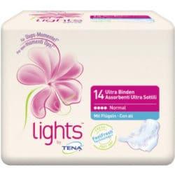 TENA lights Produktprobe