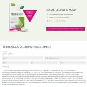 Syxyl Probio-Dent Produktprobe