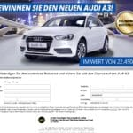 Audi A3 Verlosung