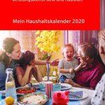 gratis haushalts kalender 2020